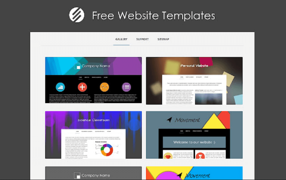 Google Sites Templates Library